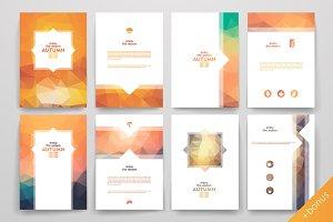 Set of Autumn brochures