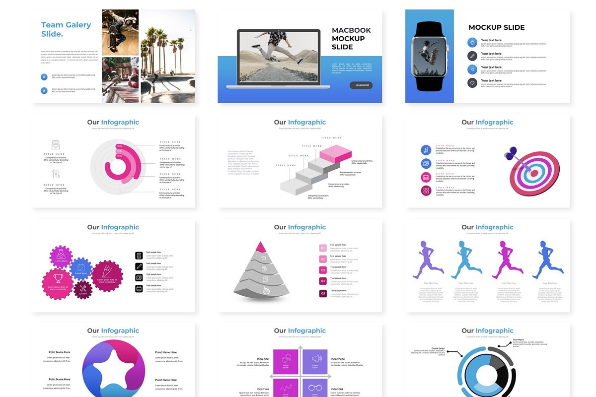 Sketek - Powerpoint Template in Presentation Templates - product preview 2