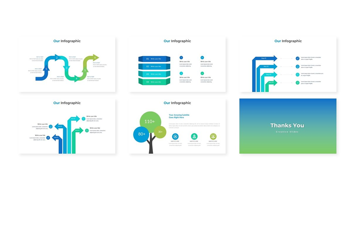 Summer - Powerpoint Template in Presentation Templates - product preview 3