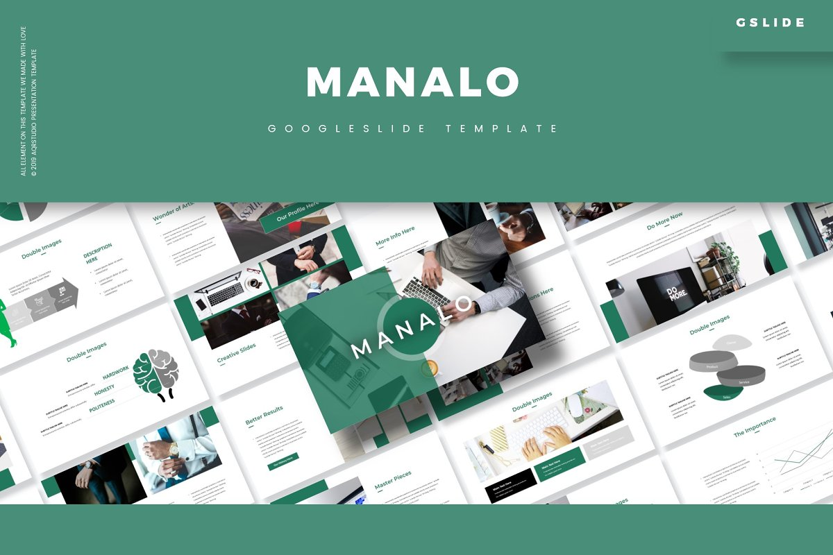 Manalo - Google Slides Template