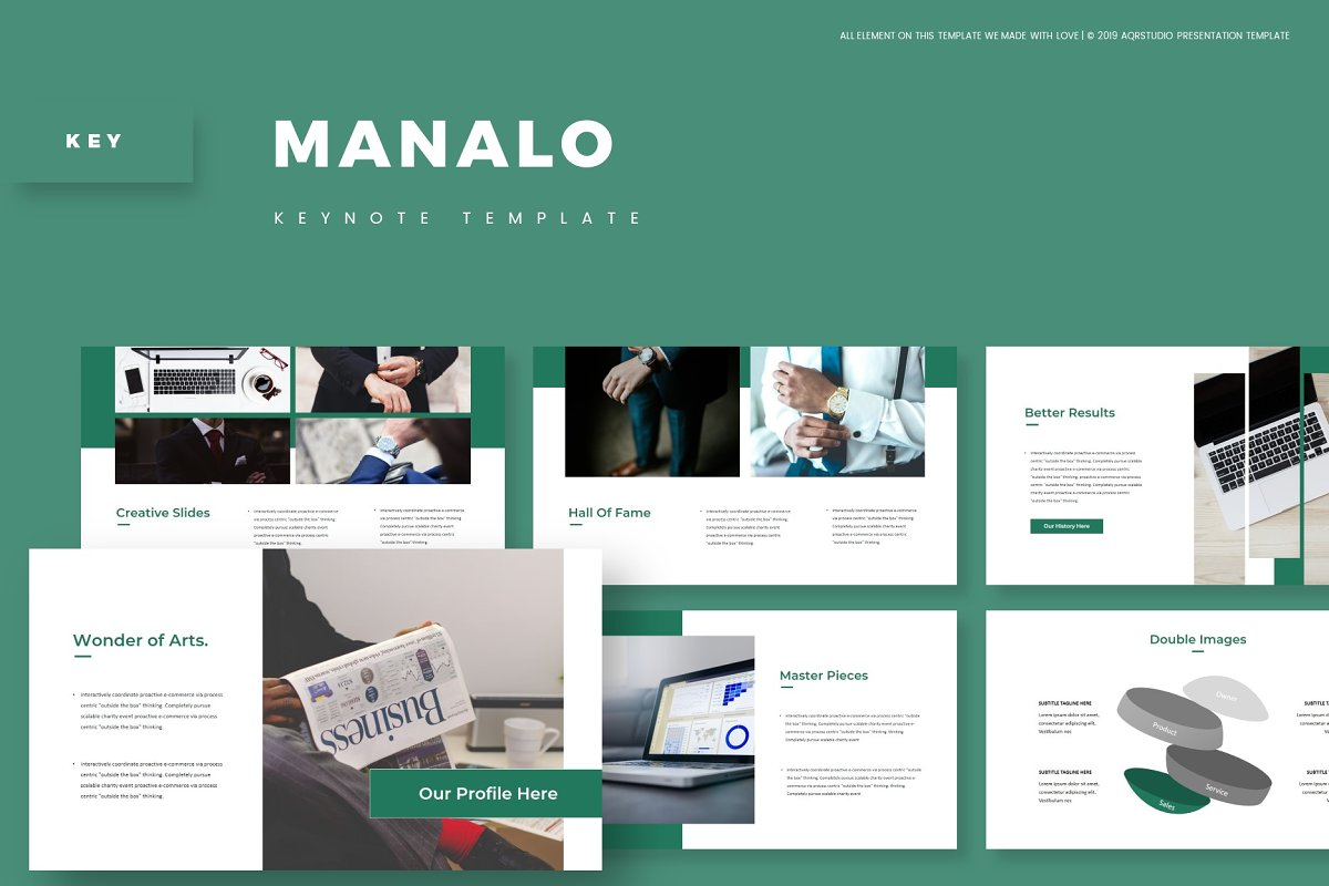 Manalo - Keynote Template in Presentation Templates