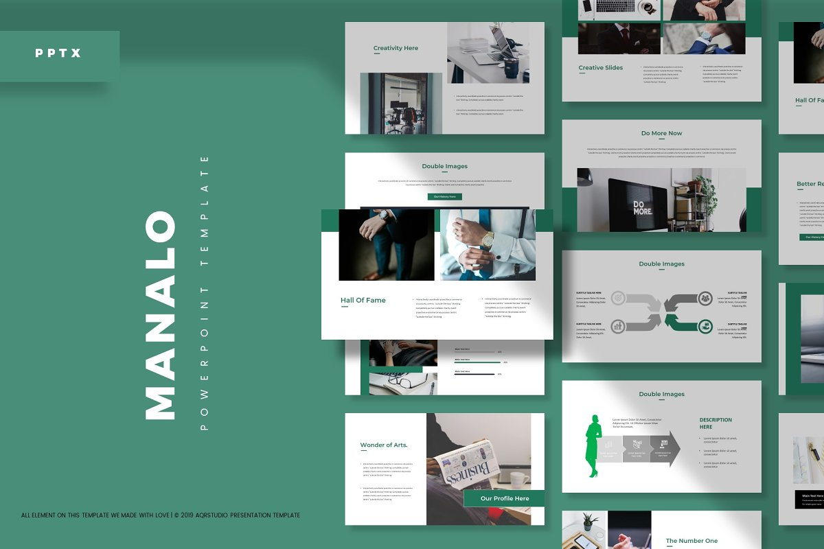 Manalo - Powerpoint Template in Presentation Templates