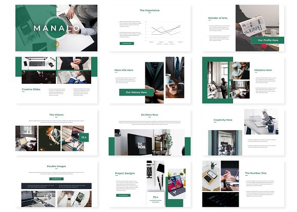 Manalo - Powerpoint Template in PowerPoint Templates - product preview 1