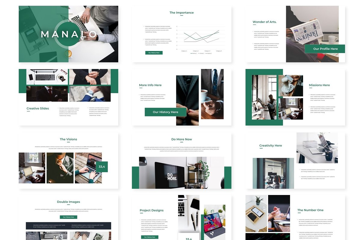 Manalo - Powerpoint Template in Presentation Templates - product preview 1