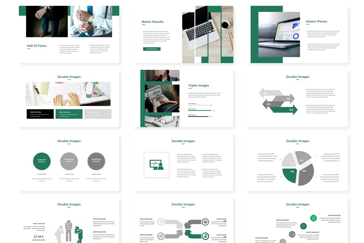 Manalo - Powerpoint Template in Presentation Templates - product preview 2