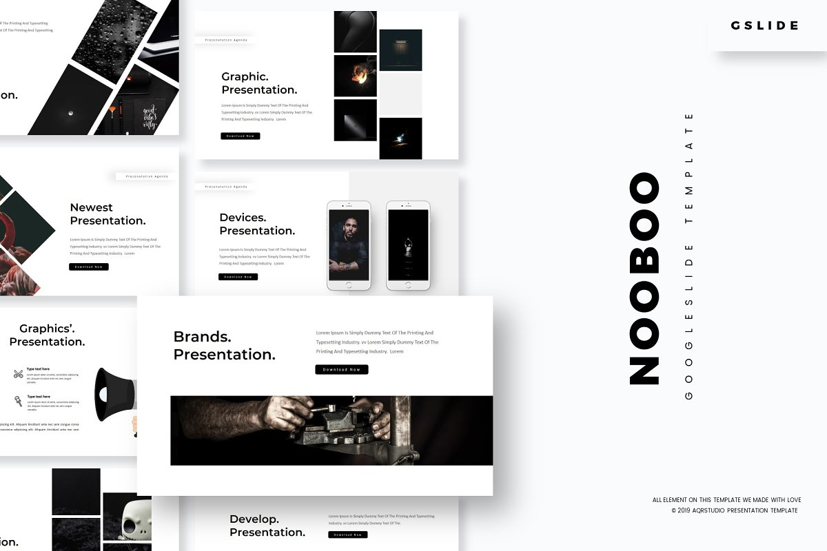 Nooboo - Google Slides Template