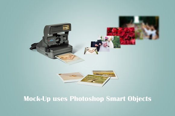 Vintage Camera Mockup in Product Mockups - product preview 1