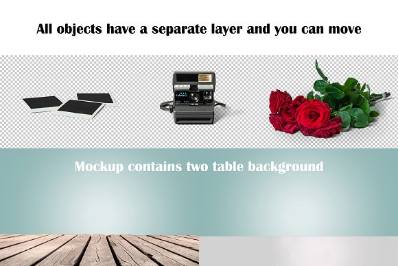 Vintage Camera Mockup in Product Mockups - product preview 4