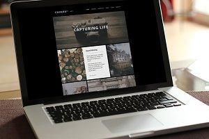 Camera – Responsive Retina HTML5