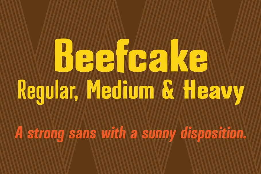 Beefcake ~ Sans Serif Fonts ~ Creative Market