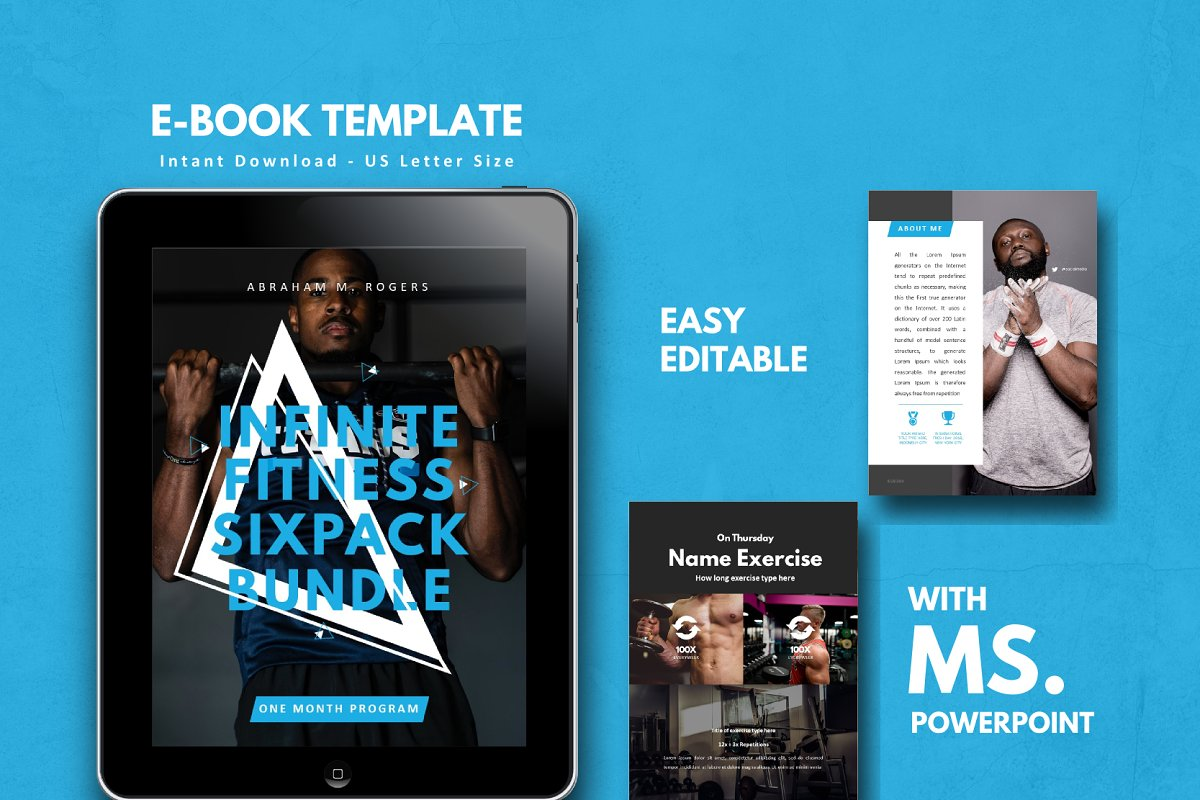 eBook Template - Fitness eBook