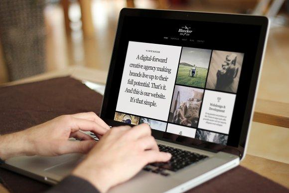 Bleecker – One-Page Portfolio HTML5