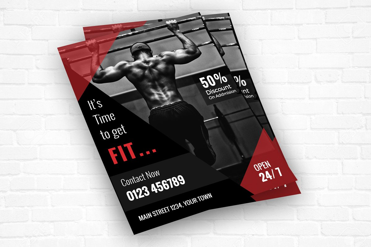 Fitness/Gym Center Flyer