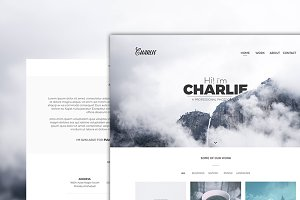 Charlie - PSD Template