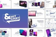 Chit & Chat - Keynote Template