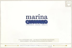 Marina: A Nautical Logo