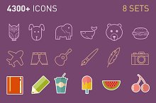 Mega Icon Bundle (4300+ icons)