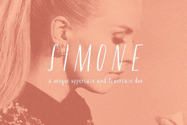 Best Simone Font Vector