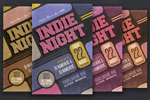 Indie Night Flyers
