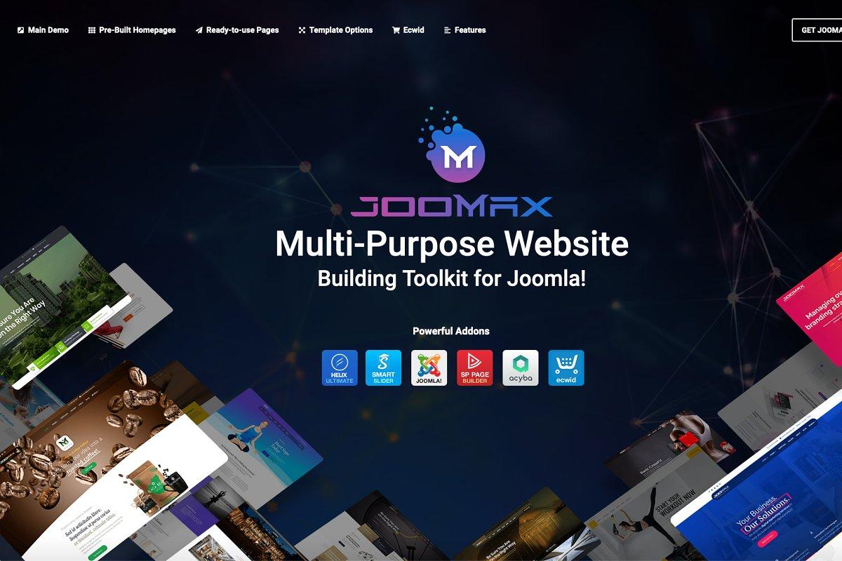 JooMax Site Building Kit For Joomla!