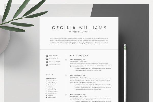Creative Resume Templates Creative Market