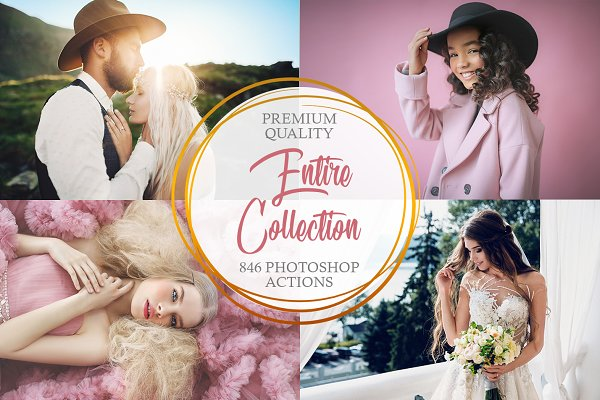 Photoshop Actions - Entire Collection Photoshop Actions
