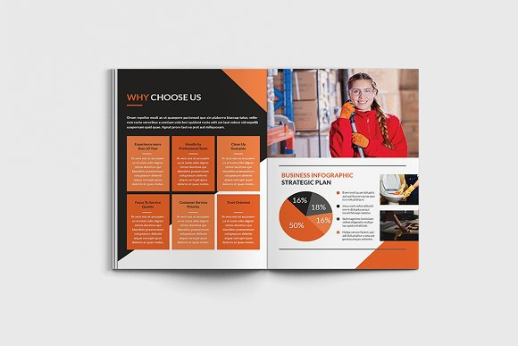 Cleancore: Cleaning Service Brochure