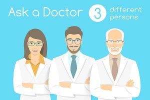 Ask a Doctor Information banners