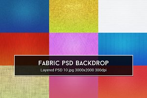Fabric PSD Backdrop