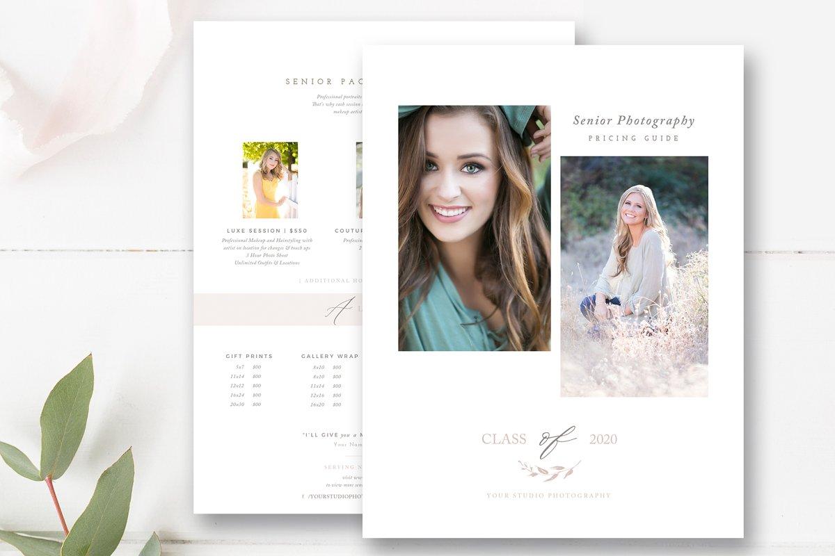 Senior Photographer Pricing Guide