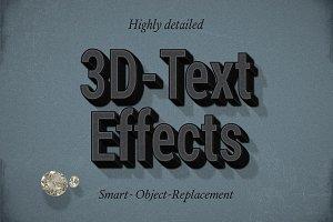 11 3D-Text Styles