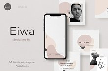 PS & CANVA / Eiwa - social media by  in Social Media