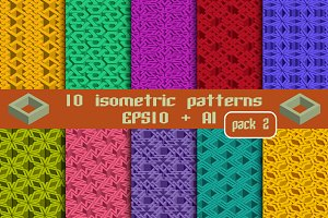 10 isometric patterns. Package 2
