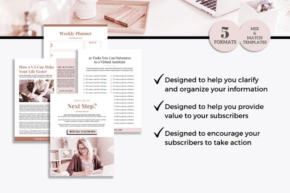 Lead Magnets for Virtual Assistants in Email Templates - product preview 4