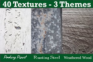 40 Textures - 3 Themes Bundle