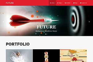 Future - Bootstrap WordPress Theme