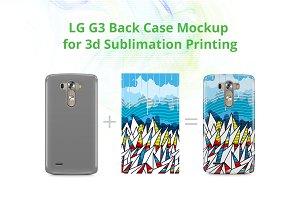 LG G3 3d Case Design Mockup