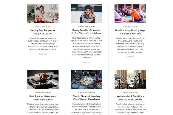 Anther - WordPress Blog News Theme