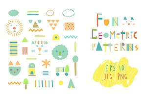 19 fun geometric patterns