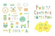19 fun geometric patterns