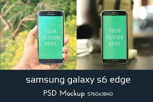 Samsung Edge Mockup
