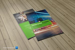 Corporate Bifold Brochure Vol 02