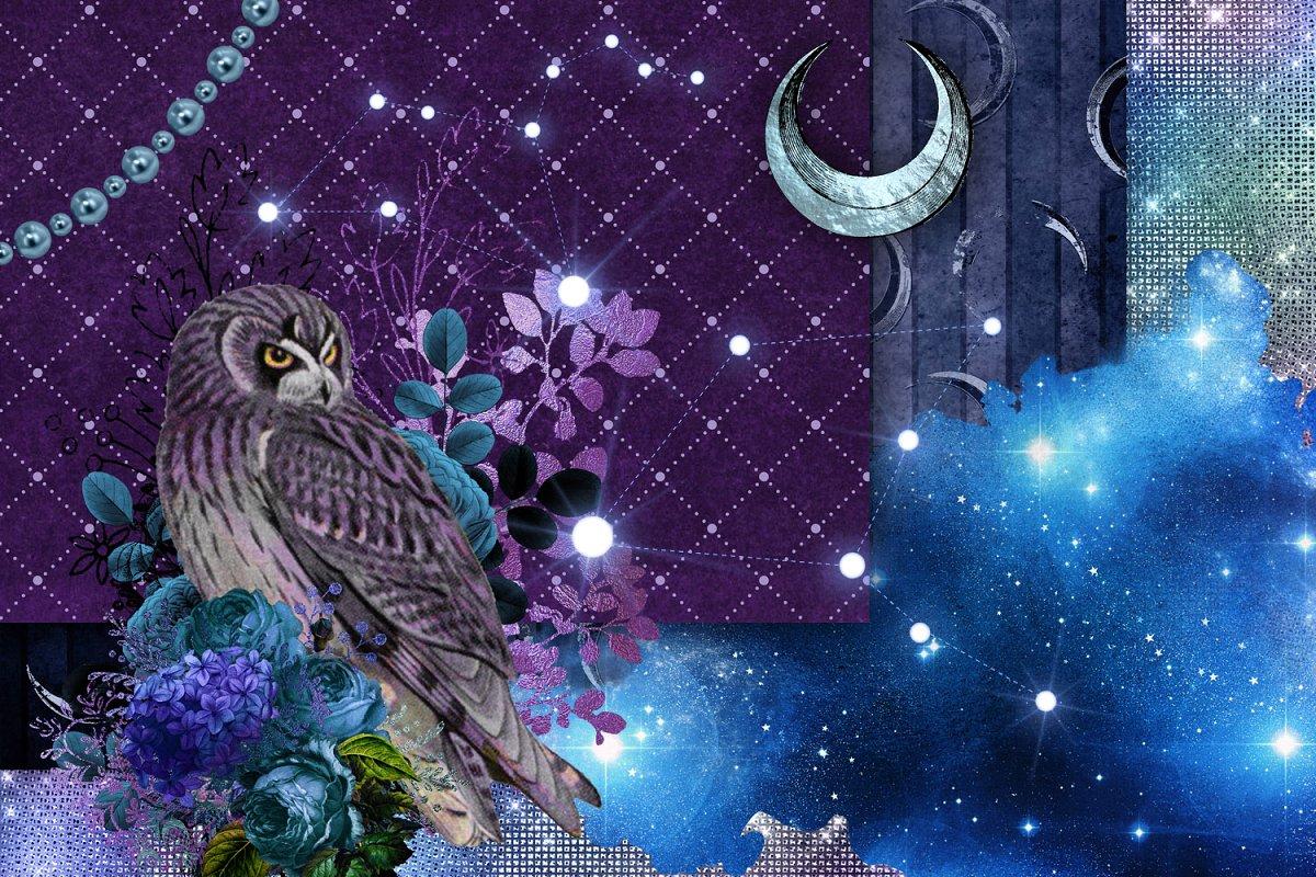 Mystic Moon Digital Graphics