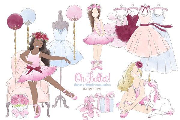 Big Dot of Happiness Tutu Niedliche Ballerina – Dekorationen DIY Ballett  Geburtstag Party oder Baby Shower Essentials – Set von 20: Amazon.de: Küche  & Haushalt