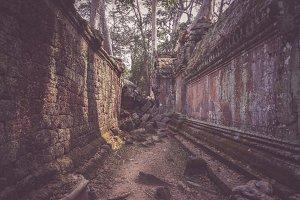 Crumbling Angkor Wat