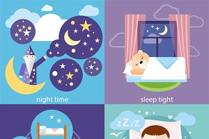 Sleeping and Night Time, Sweet Dream