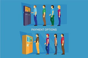 Payment options - banking finance
