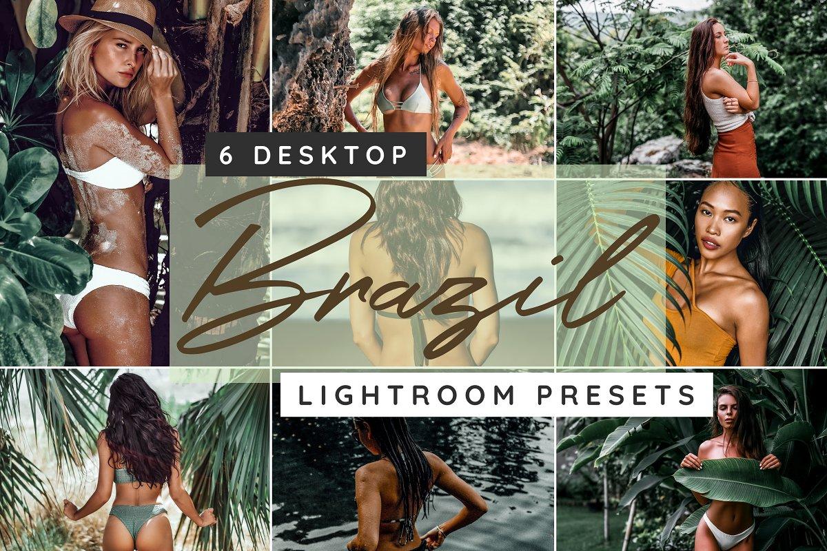 Brazil desktop Lightroom presets