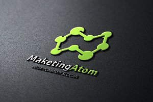 Marketing Atom Logo