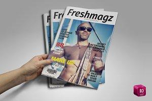 Freshmagz Magazine Template